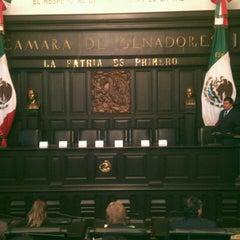 Photo taken at Antigua Sede del Senado de la República by Ivan A. on 8/26/2013