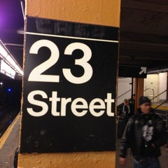 Photo taken at MTA Subway - 23rd St (C/E) by John C. on 12/7/2012