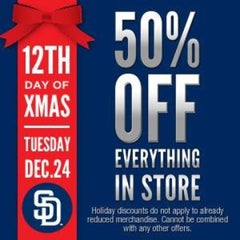 Photo taken at Padres Store by Joseph S. on 12/24/2013