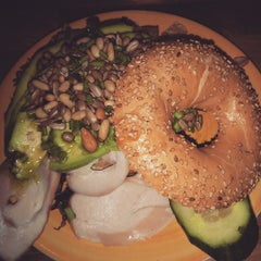 Photo taken at Bagels & Beans by Jairo S. on 1/9/2015