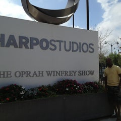 Photo taken at Harpo Studios by Anthony C. on 9/3/2013