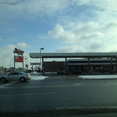 Photo taken at Sunoco by Anthony C. on 2/14/2013