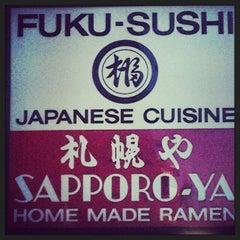 Photo taken at Fuku Sushi by Rock On M. on 10/1/2013