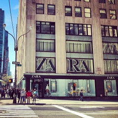 Photo taken at Zara by Kenichi S. on 4/25/2013