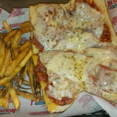 Photo taken at Penn Station East Coast Subs by Ken S. on 1/12/2013