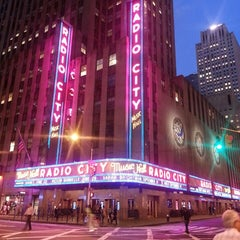 Photo taken at Radio City Music Hall by Alby R. on 5/17/2013
