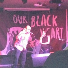 Photo taken at The Black Heart by Yonah E. on 11/8/2012