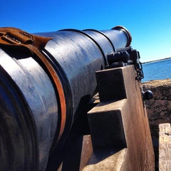 Photo taken at Fort Matanzas National Monument by John B. on 11/2/2012