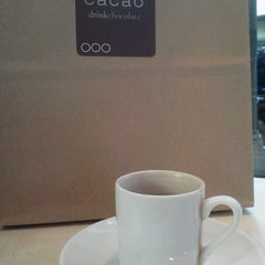 Photo taken at Cacao Drink Chocolate by Cassandra S. on 3/31/2013