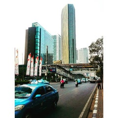 Photo taken at UOB Plaza Thamrin Nine by Clerence O. on 10/20/2015