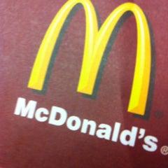 Photo taken at McDonald's by Yılmaz İlker Ş. on 10/29/2012