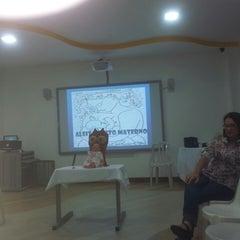 Photo taken at Escola Crescimento by Raquel A. on 3/8/2013