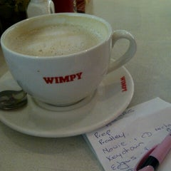 Photo taken at Wimpy by Glynis S. on 6/20/2013
