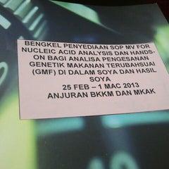 Photo taken at Makmal Kesihatan Awam Kebangsaan by yus_ l. on 2/25/2013