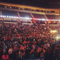Photo taken at Sears Centre Arena by Han K. on 4/13/2013