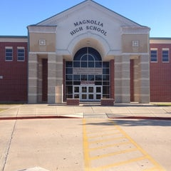 Photo taken at Magnolia High School by Shelly C. on 11/2/2012