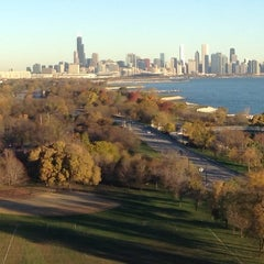Photo taken at Chicago's Lakefront (Hyde Park) by DinkyShop S. on 10/26/2014