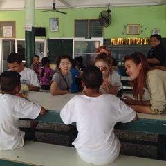 Photo taken at โรงเรียนสอนคนตาบอดพระมหาไถ่พัทยา (Pattaya Redemptorist School for The Blind) by Aon D. on 12/30/2014