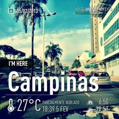 Photo taken at Campinas by Rodrigo M. on 2/5/2013