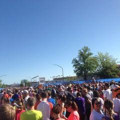 Photo taken at Bolder Boulder 10K Race by ⛳️⚽️Dave J. on 5/27/2013