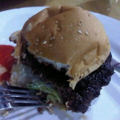 Photo taken at Gaboh Grill Burger by atikah r. on 12/18/2012