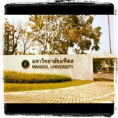 Photo taken at มหาวิทยาลัยมหิดล (Mahidol University) by Art T. on 10/16/2012