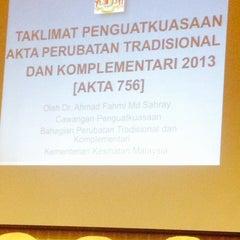 Photo taken at Kolej Sains Kesihatan Bersekutu by Sabdien Abd G. on 4/15/2014