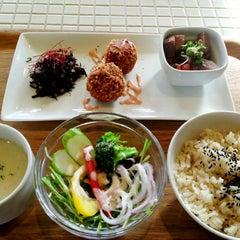 Photo taken at cafe dinner Lush Life by Weinasi on 12/15/2013