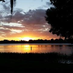 Photo taken at Gaston Edwards Park by Denna B. on 11/22/2013