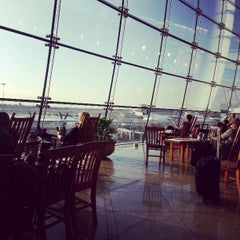 Photo taken at Gate A4 by Jeannie N. on 3/25/2013