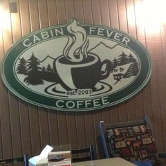 Photo taken at Cabin Fever Coffee by Rachel S. on 12/2/2013