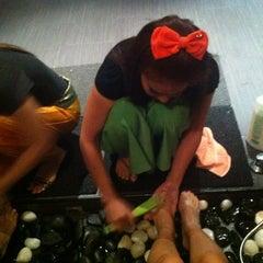 Photo taken at Siam Legend Thai Massage by Angelina L. on 1/30/2013