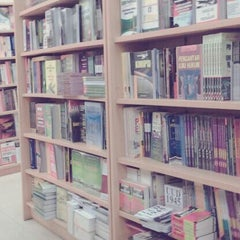 Photo taken at Gramedia by Arifonesa P. on 12/1/2013