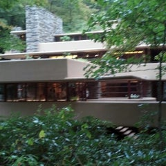 Photo taken at Fallingwater by Erin O. on 9/22/2012