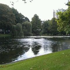 Photo taken at Parc Léopoldpark by Line J. on 9/20/2013