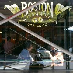 Photo taken at Boston Common Coffee Company by Benjamin B. on 6/25/2013