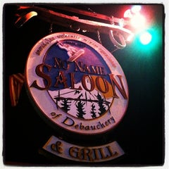 Photo taken at No Name Saloon & Grill by Liz P. on 12/4/2012