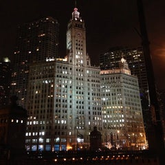 Photo taken at Wrigley Building by @steveGOgreen on 1/30/2013