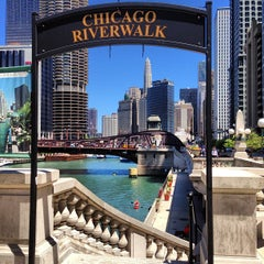 Photo taken at Chicago Riverwalk by @steveGOgreen on 7/12/2013