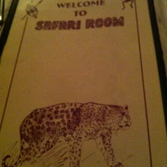 Photo taken at The Safari Room by George S. on 10/8/2012