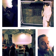 Photo taken at Shoreditch Studios by Mathieu F. on 4/17/2014