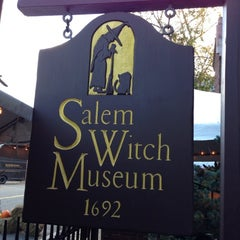 Photo taken at Salem Witch Museum by David H. on 10/24/2012