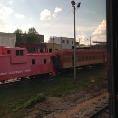 Photo taken at McComb Amtrak Station by Steve N. on 4/29/2013