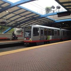 Photo taken at West Portal MUNI Metro Station by Krakatau B. on 10/20/2012