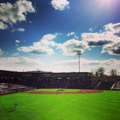 Photo taken at Parkview Field by Dave T. on 4/20/2013