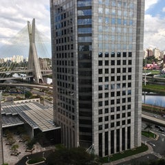 Photo taken at Sheraton São Paulo WTC Hotel by Brad A. on 7/21/2013