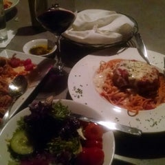 Photo taken at Grazie! Italian Eatery by Lesley S. on 3/7/2015