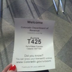 Photo taken at DMV by Vanessa W. on 1/25/2013
