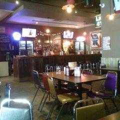 Photo taken at Frat Burger by Julie V. on 2/17/2013