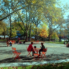 Photo taken at Clark Park by Kevin K. on 10/20/2012